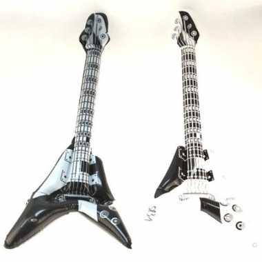 Hard rock gitaar opblaasbaar