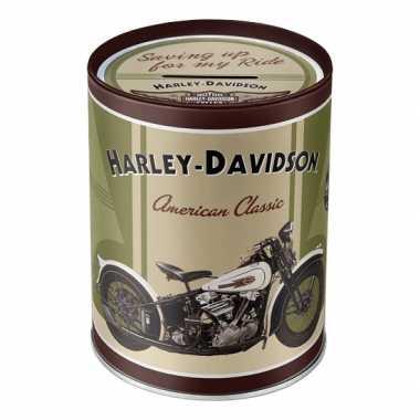 Harley davidson spullen spaarpot