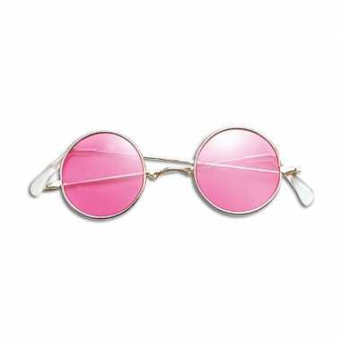 6b25da482360e4 Hippie bril roze glazen