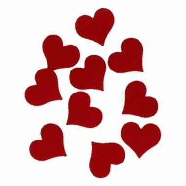 Hobby vilt 10 rode vilten harten 4cm