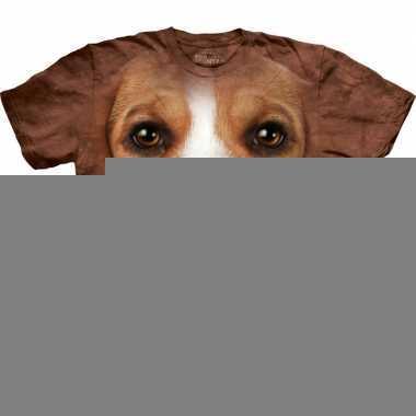 Honden t-shirt beagle voor volwassenen