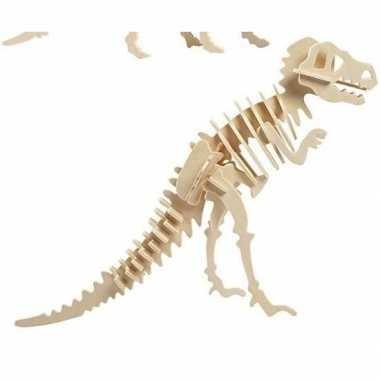 Houten tyrannosaurus dinosaurier