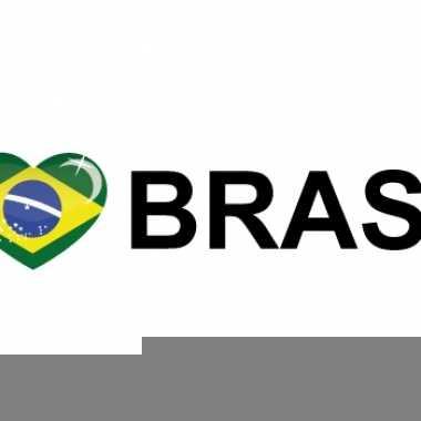 I love brasil stickers