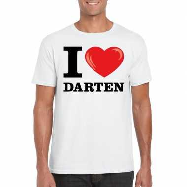 I love darten t-shirt wit heren