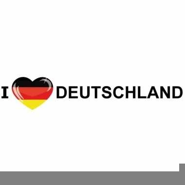 I love deutschland papieren sticker