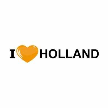 I love holland oranje stickers trend