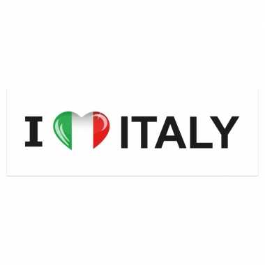 I love italy stickers groot