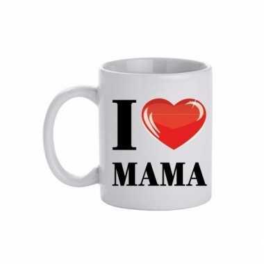I love mama beker / mok 300 ml
