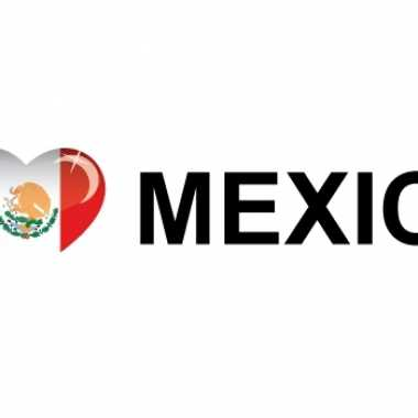 I love mexico stickers