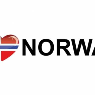 I love norway stickers