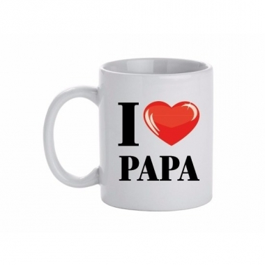 I love papa beker / mok 300 ml
