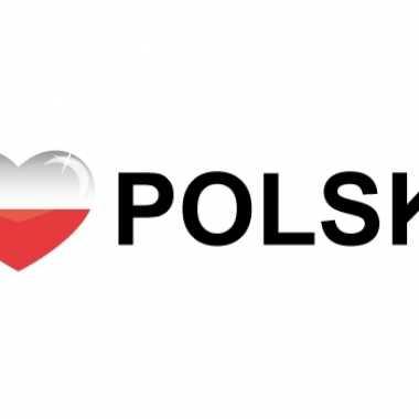 I love polska stickers