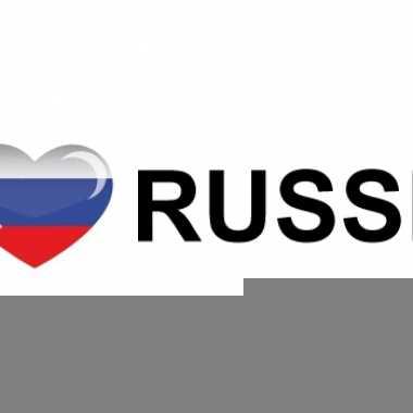 I love russia stickers