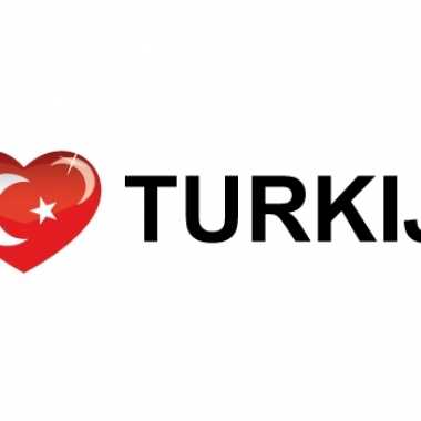 I love turkije stickers