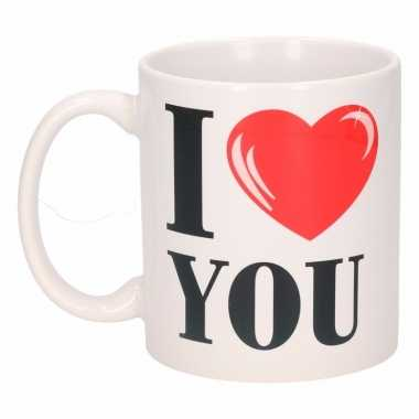 I love you beker / mok 300 ml