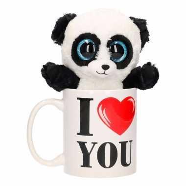 I love you mok met panda