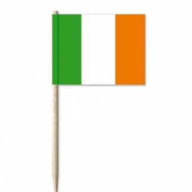 Ierland decoratie prikkertjes 50 st