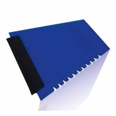 Ijskrabber blauw 12 x 11 cm