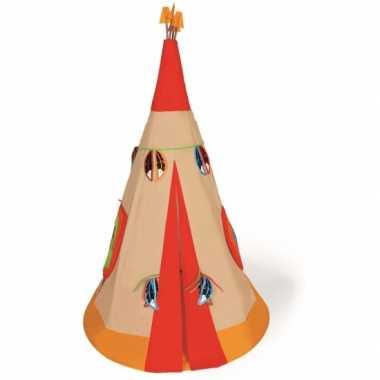 Indianen speelgoed wigwam