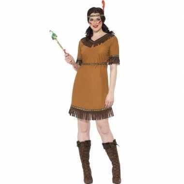 Indianen verkleed kostuum jurk voor dames