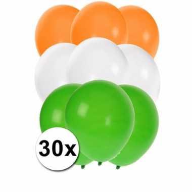 Indische feest ballonnen 30 st