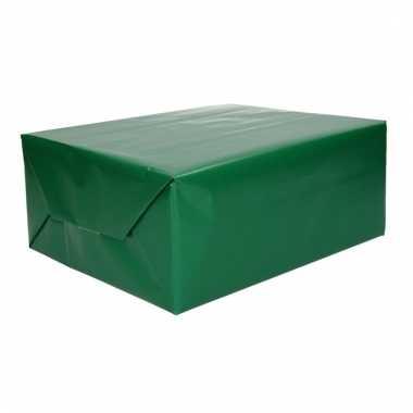 Inpakpapier groen 70 x 200 cm trend