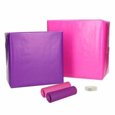 Inpakpapier voor meisjes xs pakket trend