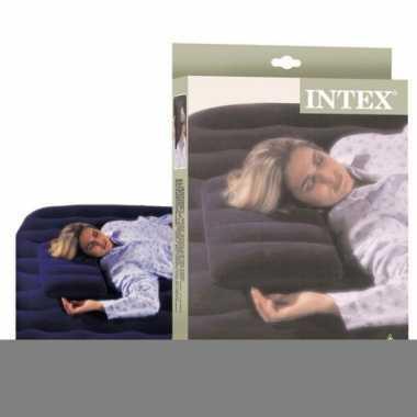 Intex opblaas hoofdkussen 43 x 28 cm