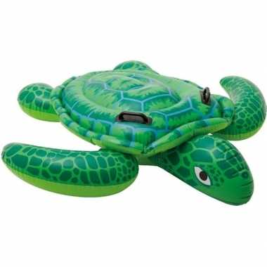 Intex opblaas schildpad 150 x 127 cm