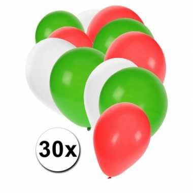 Iraanse feest ballonnen 30 st