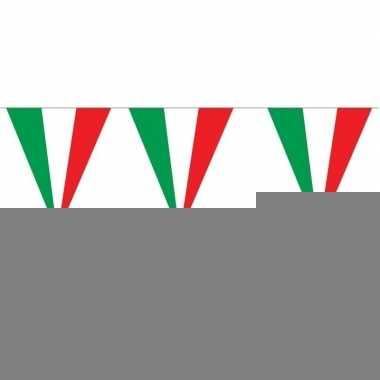 Italiaanse versiering vlaggenlijn 5 stuks