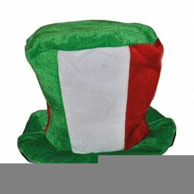 Italiaanse vlag hoed
