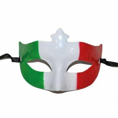 Italiaanse vlag oogmasker