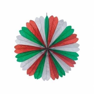 Italiaanse waaiers versiering 60 cm
