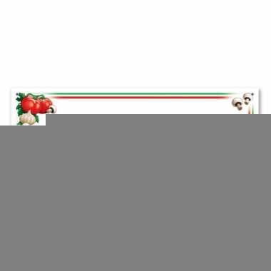 Italie banners 152 cm