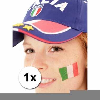 Italie vlag tattoeage