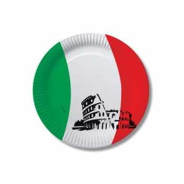 Italie wegwerpbordjes 10 st