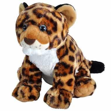 Jaguars/luipaarden speelgoed artikelen jaguar knuffelbeest gevlekt 35