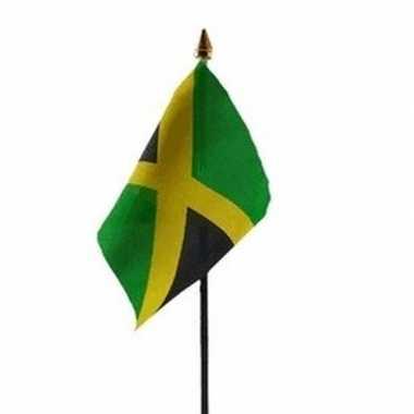 Jamaica vlaggetje met stokje