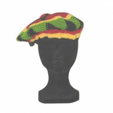 Jamaicaans gekleurde muts