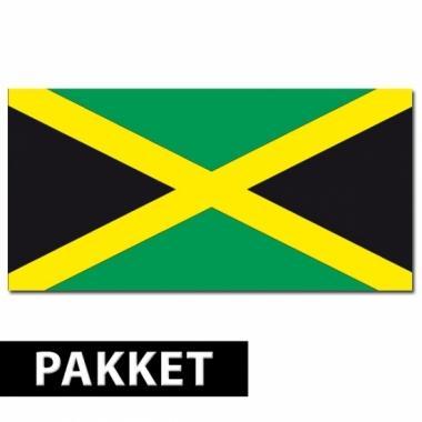 Jamaicaanse feestartikelen pakket