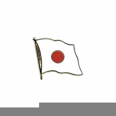 Japanse vlaggetjes pin