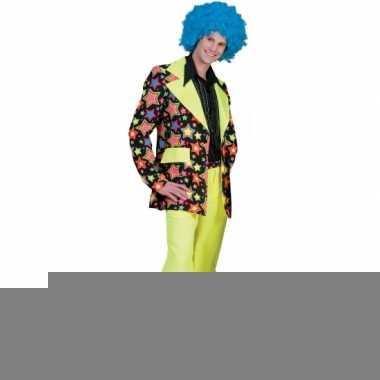 Jaren 70 kostuum met felle kleuren voor heren