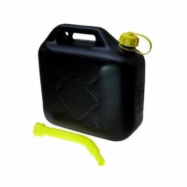 Jerrycan 20 liter zwart