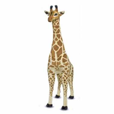 Jumbo giraffe knuffel 140 cm