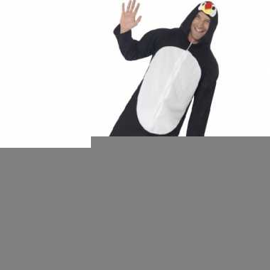 Jumpsuit pinguin all-in-one voor volwassenen