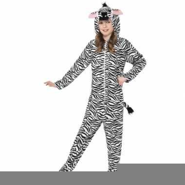 Jumpsuit zebra all-in-one voor kinderen