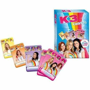 K3 kwartetspel vanaf 4 jaar