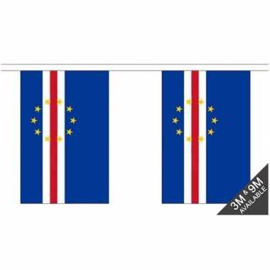 Kaap verdi? vlaggenlijn van stof 3 m