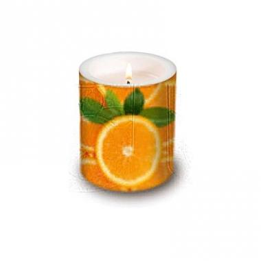 Kaars met sinaasappel afbeeldingen